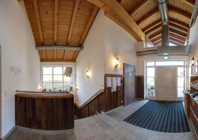 Eingangsbereich Waschalm
